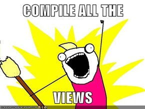 COMPILE ALL THE  VIEWS