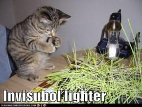 Invisubol lighter