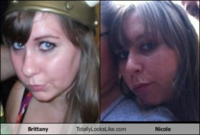 Brittany Totally Looks Like Nicole