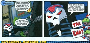 The Teen Titans and the Brain