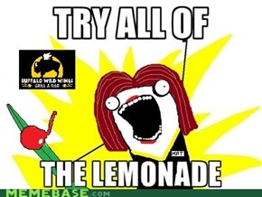 Try All Of The Lemonade!
