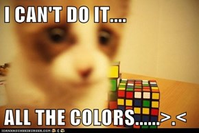 I CAN'T DO IT....  ALL THE COLORS......>.<