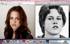 Kirsten Stewart totally looks like young Melanie Griffith