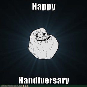 Happy  Handiversary