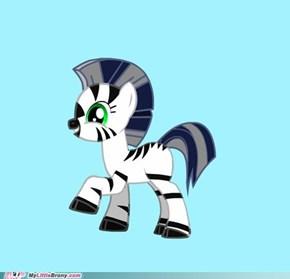 My zebra-sona