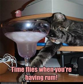 Yum rum!