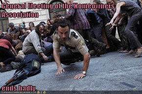 Homeowners Association Meeting