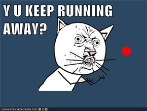 Y U KEEP RUNNING AWAY?