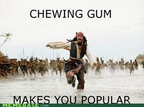 Where's the Gum Gone?