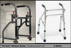 """The Rack"" Workout Station Totally Looks Like A Walker"