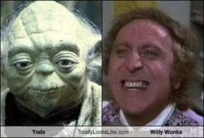 Yoda Totally Looks Like Willy Wonka