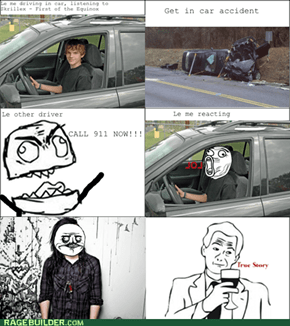 Rage Comics: Dubsteppin' In My Way