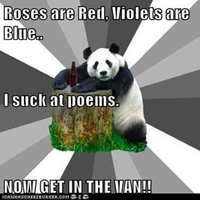 Pickup Line Panda: Poet Laureate