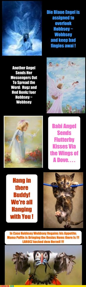 Angels on High Send Blessings to Hobbsey Wobbsey