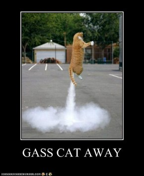 GASS CAT AWAY