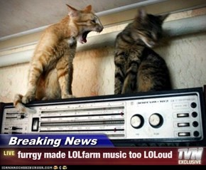 Breaking News - furrgy made LOLfarm music too LOLoud