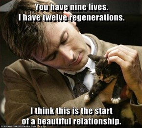 You have nine lives.