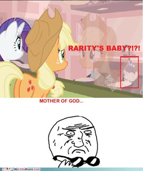 Rarity's Baby?!?!