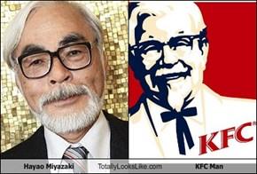 Hayao Miyazaki Totally Looks Like Colonel Sanders