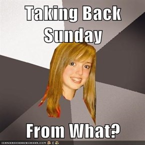 Taking Back Sunday  From What?
