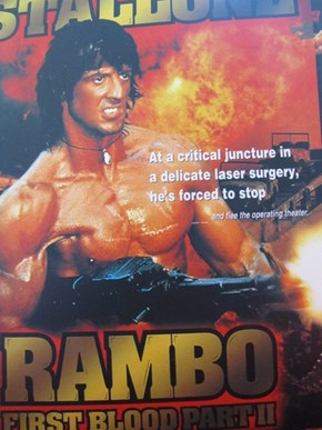 So that's what Rambo's about!