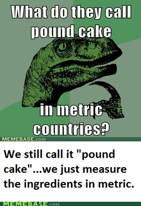 Metric all the way
