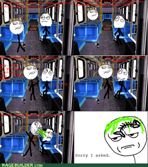 Why I hate public transport.