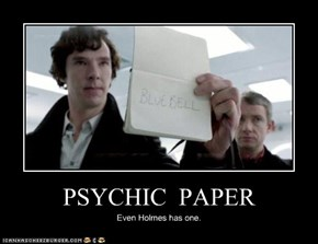 Psychic Paper