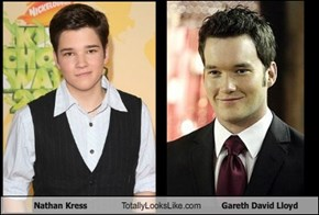 Nathan Kress Totally Looks Like Gareth David Lloyd