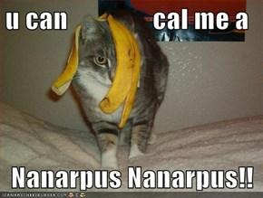 u can                cal me a  Nanarpus Nanarpus!!
