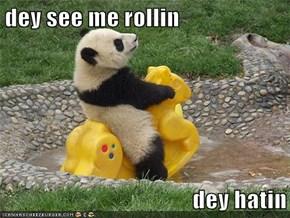 dey see me rollin  dey hatin