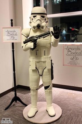 Stormtrooper Cake WIN