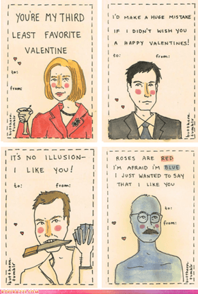 """Arrested Development"" Valentine's Day Cards"