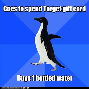Goes to spend Target gift card