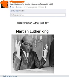 Martian Luther King