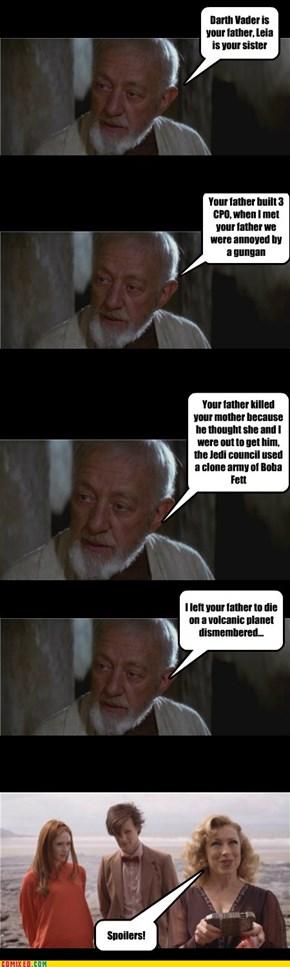 Obi Wan the Spoiler