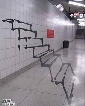 Hacked IRL: Stairway WIN