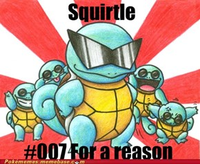 Squirtle: Codename 007