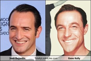 Jean Dujardin Totally Looks Like Gene Kelly