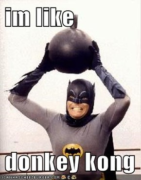 im like   donkey kong