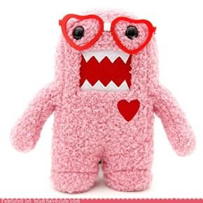 Domo Pink Nerd Plush