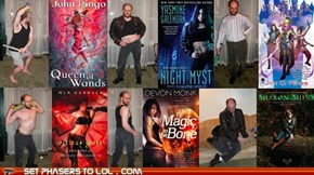 Fantasy Author Recreates Cover Poses