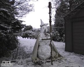 WIN!: Snowman WIN