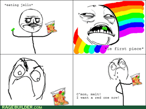 The problem with jello...