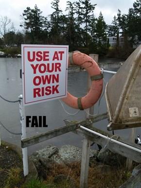 Life Saver Placement FAIL