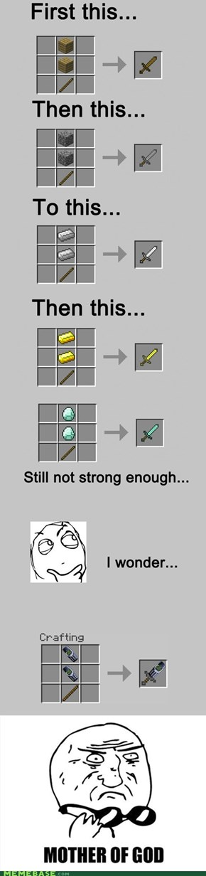 The Levels of Minecraft Power