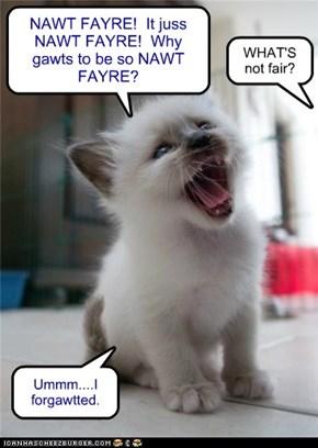 But still NAWT FAYRE!