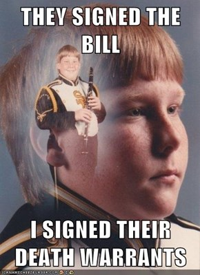 PTSD Clarinet Kid: The Last Thing They'll Pass Is Through My System
