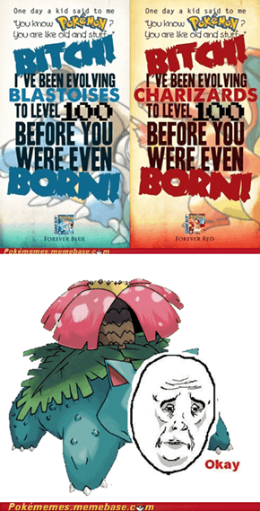 No love for Venusaur
