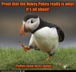 Proof that the Hokey Pokey really is what it's all about!